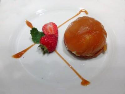 Chartreuse de pomme caramélisé