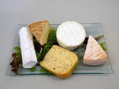 Plateau de fromages froids